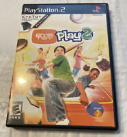 Eye Toy Play Playstation 2 PS2 Video Game No Manual*