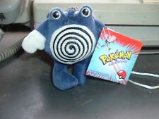 """Pokemon Licensed Poliwhirl 3"""" Plush  Toy Figure New! Beanie"""