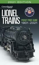 2021 Edition Greenberg's Lionel Trains Pocket Guide 1901-2021
