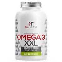 Keforma Omega 3 XXL Alta Concentrazione EPA 36% DHA 24% 150 perle