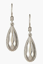 LAGOS Caviar 925 Sterling Silver Rocks Drop Dangle Earrings autentic BNWT