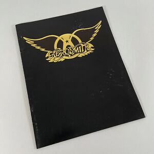 Aerosmith 1977 Concert Program - vintage original
