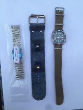 Seiko Automatic Diver 7002 Dive Watch Vintage Excellent Extras Mesh NATO Leather
