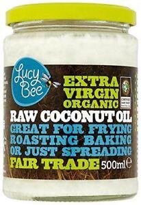 Lucy Bee Extra Virgin Raw Organic Coconut Oil - 500ml