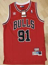 NBA Dennis RODMAN #91 Chicago BULLS Official Champion Jersey Trikot SWINGMAN M