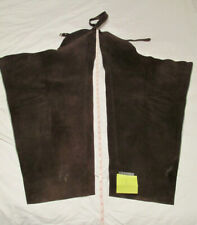 Childs Chaps English Leather Suede 4 Pairs Western Cowboy-Costume- Ranch-Party