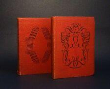 Le Capitaine Fracasse + Robinson Crusoé - Bibliothèque Rouge et Or / G.P. 1949