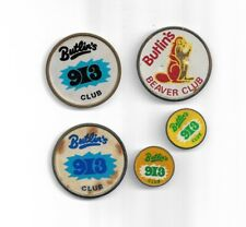 Butlins - Beaver and 9-3 Club - Scarce collection of vintage pin badges