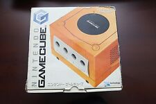 Nintendo GameCube Orange Console boxed Japan System US seller
