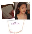 J.ESTINA jestina JOELLE PERLINA Necklace Park Min Young Korea Drama NWT