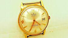 HASTE de Lucce Buren c.1008 super slender  SWISS 30 jewel Automatic watch