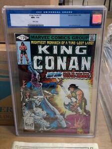 KING CONAN #1, (1980), Marvel Comics CGC 9.6, OLD LABEL