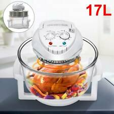 1300W 17L Large Oil Free Low Fat Air Fryer Healthy Frying Oven Halogen Cooker