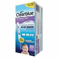 Clearblue Digital Ovulation Test Kit (OPK) of 20 Tests Pack of 20