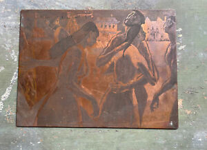 John Fenton Art Copper Etched Plate