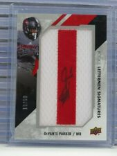 2015 Upper Deck DeVante Parker Rookie Lettermen Patch Auto #19/50 L34