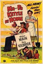 MA & PA KETTLE AT HOME Movie POSTER 27x40 Marjorie Main Percy Kilbride Alan