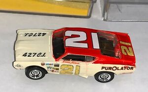 #21 David Pearson Vintage Purolator Slot Car HO