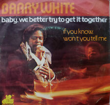 "7"" NL-Press! Barry White Baby we better try to get It Together"