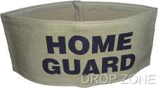 WWII British Civil Defence Khaki Arm Band - Home Guard