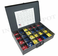 ULTIMATE ELECTRICAL WIRE CONNECTORS & TERMINALS KIT USA SPLICE WIRING - 2400 PCS