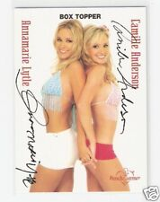 02 BENCHWARMER BOX TOPPER - Annamarie Tyler & Camille Anderson - DOUBLE AUTO
