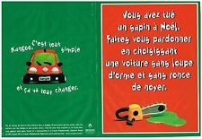PUBLICITE  ADVERTISING  1998     RENAULT   KANGOO  ( 2 pages)