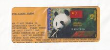 TK Telefonkarte/phonecard USA China Panda Auflage
