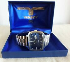 Vintage 1970s Tissot Swiss Seven Automatic TV Mens Watch With Case  Running Fast