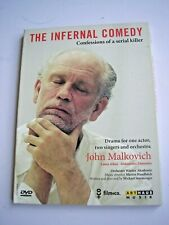 The Infernal Comedy DVD region 0 NTSC John Malkovich