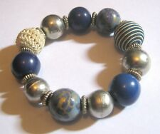 Great statement style beaded bracelet variety of styles elasticated