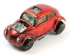 Vintage Hot Wheels Redlines 1967 Custom Volkswagen, Red, USA