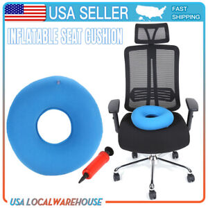 New Inflatable Ring Round Chair Cushion Hemorrhoid Medical Donut Air Seat Pad U