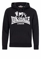 Lonsdale Hooded Sweatshirt Gosport 2 schwarz black Men