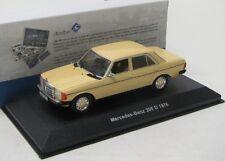Mercedes Benz 200 D / W123 ( 1976 ) creme / Solido 1:43