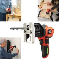 Cordless Hand Saw Black N Decker Portable Electric Power Tool Cut Wood Metal PVC