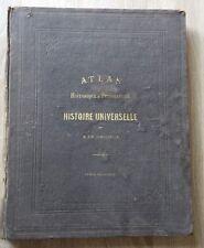 Schnitzler ATLAS HISTORIQUE ET PITTORESQUE Histoire Universelle TEMPS MODERNES