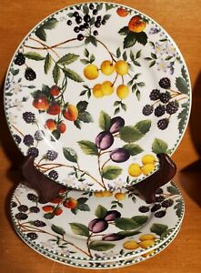 """Mainstays ALEXANDREA Salad plate set of 3, 7 1/2"""", Fruit, New with tags, NWT"""