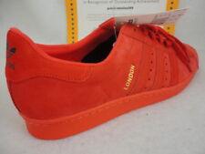 quality design 1e055 c20e9 adidas Superstar 80s City Series London Mens B32664 Red Suede Shoes Size  11.5