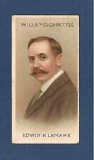 EDWIN LEMARE English ORGANIST COMPOSER 1912 original print card
