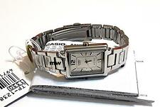 Casio Ladies White Dial Stainless Steel Analog Watch LTP-1238D LTP-1238D-7A