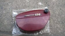 Kawasaki 120cc C2SS C2TR Side Cover&Knob with Emblem NOS Genuine Japan