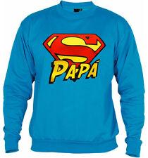 Sudadera Super papa dia del padre regalo original marvel superheroe superman