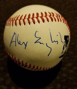 Alex English Signed MiLB Ball Denver Nuggets Basketball Auto Autograph HOF
