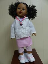 """Handmade Girl Doctor Outfit Fits 18"""" American Girl Dolls !"""