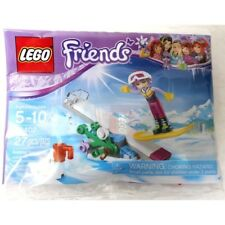 LEGO Friends Snowboard Tricks Mini Set Building Toy Kit (30402) 27 pieces