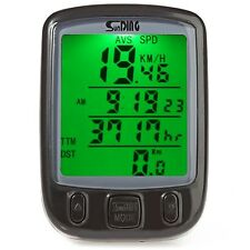 Bicycle Computer Include Battery Waterproof Cycling Odometer Speedometer LCD New