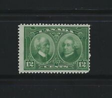 CANADA - #147 - 12c LAURIER & MACDONALD MINT STAMP (1927) MNH HISTORICAL ISSUE