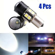4x Error Free White Canbus CREE LED Backup Reverse Light Bulb BA15S 1156 P21W