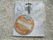 Hal's Harley-Davidson  Christmas Ornament From New Berlin Wi. NIP
